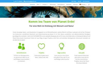 Gaia sucht Mitarbeiter geht online!